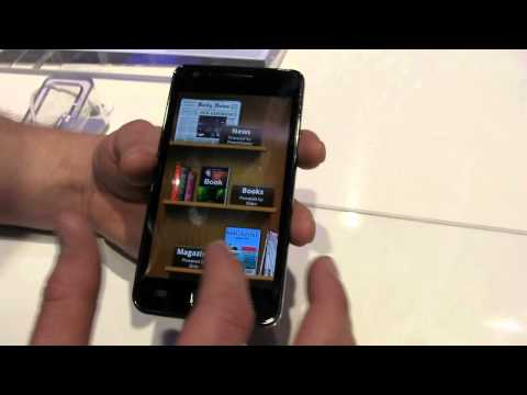 Samsung Galaxy S II (GT-I9100) Hands-On from MWC 2011