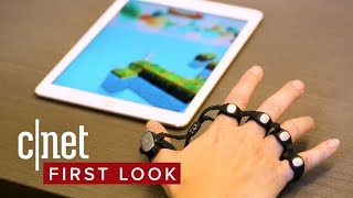 You wear this keyboard like brass knuckles - CNETTV