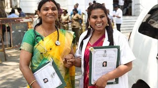 Two transwomen get job in TN govt hospital - TIMESOFINDIACHANNEL