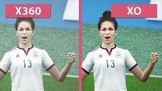 FIFA 16 – Xbox 360 vs. Xbox One Graphics Comparison [FullHD][60fps]