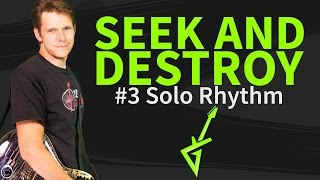 Seek and Destroy 3 of 4 Guitar Lesson