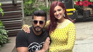 Arjun Kapoor & Parineeti Chopra's MASTI at promotion of 'Namaste England' - ZOOMDEKHO