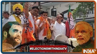 Lok Sabha Elections 2019: Gautam Gambhir Holds Roadshow Ahead Of Filling His Nomination - INDIATV