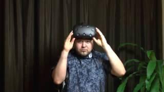 Обзор шлема виртуальнои реальности HTC Vive
