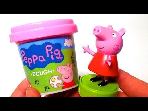 Peppa Pig Play Doh playdough plastilina by lababymusica