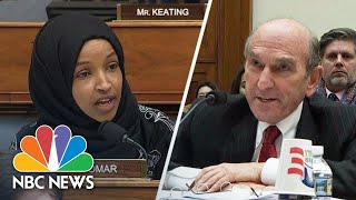 'It Was An Attack!': Omar And Abrams Share Heated Exchange | NBC News - NBCNEWS