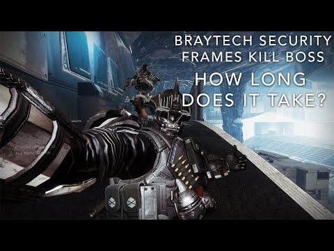 How long does it take for the BrayTech Security Frames to kill the Lost Sector Boss? #MOTW
