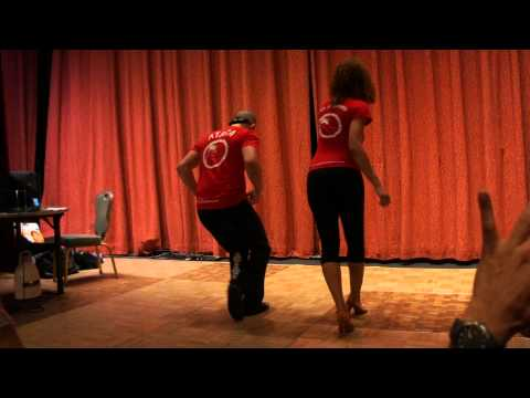 Ataca y Alemana bachata workshop @ NY Salsa Congress 2011