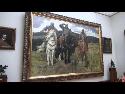 Niezwykly Swiat - Rosja - Moskwa - Galeria Trietiakowska cz 2