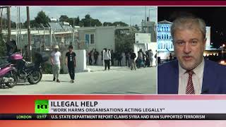 NGO founder surrenders to police, facing charges for helping refugees to enter Greece illegally - RUSSIATODAY