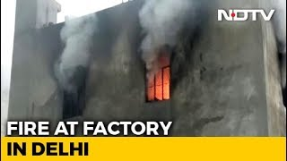 17 Killed In Fire At Building In North Delhi; Some Jumped From Terrace - NDTV