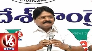 AP settlers are reason for Congress failure in Hyderabad - Ex Minister Sathyanarayana - V6NEWSTELUGU