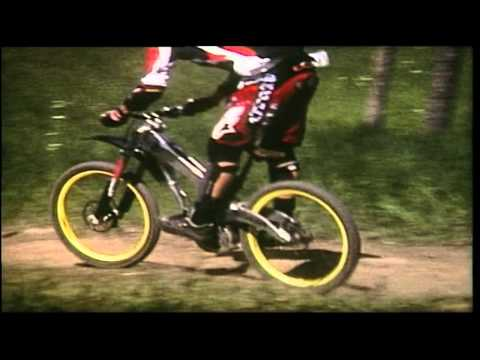 Mountain Bike - Jumping Downhill