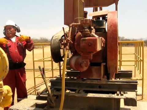 Arranque de Balancin Petrolero
