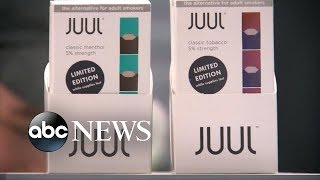 Juul to stop selling most e-cigarette flavor pods in stores - ABCNEWS
