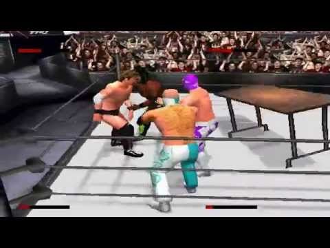 WWE Smackdown 2 Year Of Champions 2014: Rey Mysterio vs Chris Jericho vs Sin Cara vs Kofi Kingston