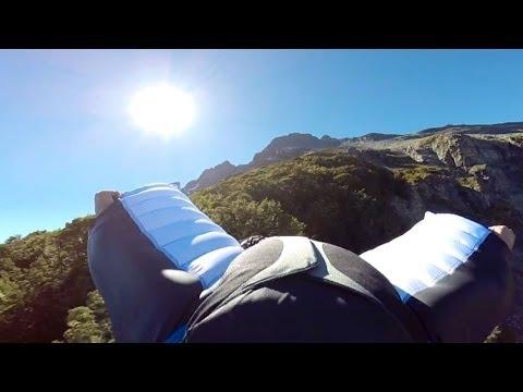 Wingsuit - New Zealand