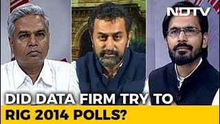 Did Disgraced Data Firm Try To Infiltrate Congress? - NDTV