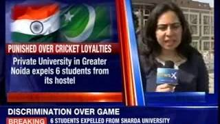 Six students expelled for cheering Pakistan at Sharda University - NEWSXLIVE