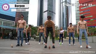 【EP8】4min TABATA in Hongkong 'Traveling without getting fat'