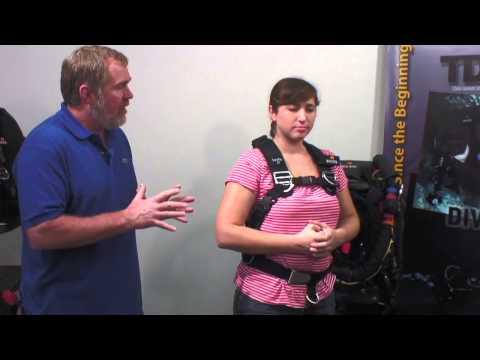 DIVERITE: Scuba Diving, TransPac XT Fitting for Women