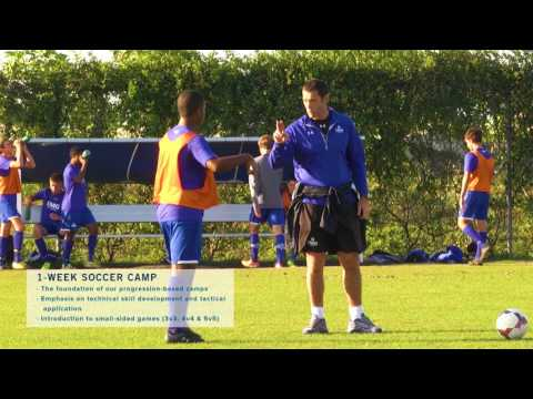 The 1-week Soccer Camp Experience  (Short Video)