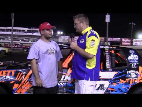 Tyler Pickett Hobby Stock Feature winner 07/05/14