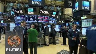 Wall St ends higher as Trump becomes president - REUTERSVIDEO