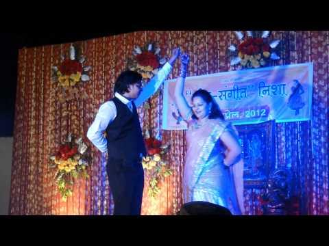 mahila sangeet pravin khushbu couple dance