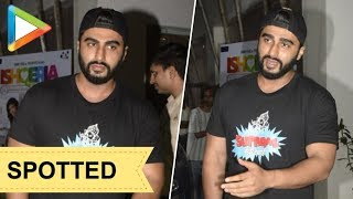 SPOTTED: Arjun Kapoor at Sunny Super Sound for dubbing - HUNGAMA