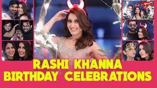Raashi Khanna Birthday Celebrations 2017 - TELUGUONE