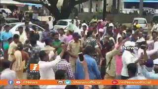 Clashes Between TRS Activist In Station Ghanpur |Rajarapu Pratheep Vs Thatikonda Rajaiah | iNews - INEWS
