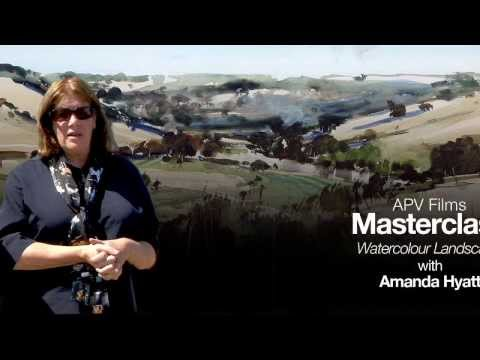 APV Films Masterclass - Watercolour Landcape with Amanda Hyatt