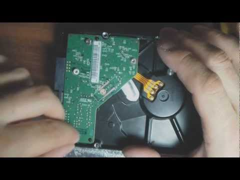 Жесткий диск для ноутбука ремонт своими руками