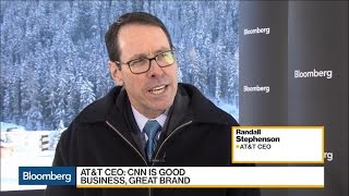 AT&T CEO Says CNN Is a Good Business And Great Brand - BLOOMBERG