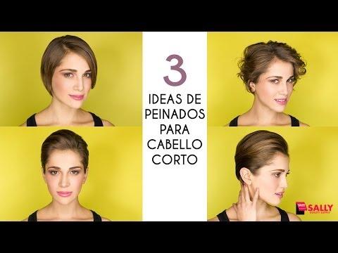 3 Ideas de Peinados para Cabello Corto