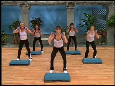 Step Aerobics Dvd Cathe Friedrich's