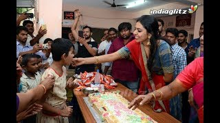 Shivani Rajasekhar birthday celebrations at Devnar School for the blind - IGTELUGU