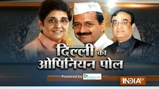 BJP may get majority in Delhi polls, says India TV-CVoter latest opinion poll (Part 2) - Ajit Anjum - INDIATV