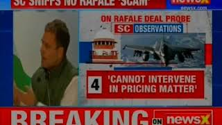 Congress president RaGa attacks PM Narendra Modi over rafale deal - NEWSXLIVE