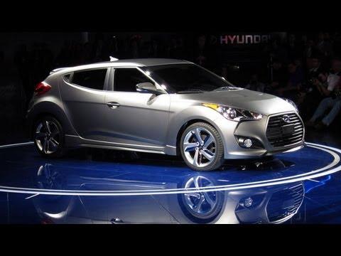 2013 Hyundai Veloster Turbo -- 2012 Detroit Auto Show