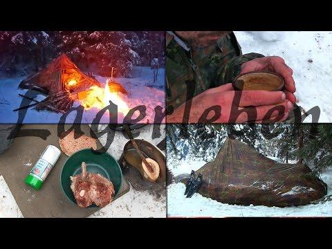 Alltag im Winter Waldläufer Lager - Tag 2