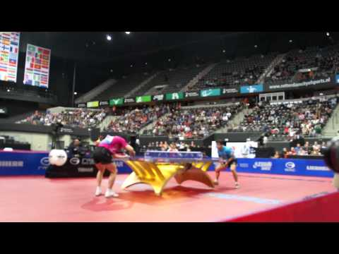 Table Tennis WTTC 2011 Rotterdam Men's Semi Wang Hao Ma Long 10 of 12