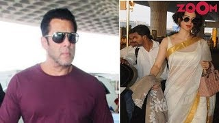 Salman Khan's COOL look | Kangana Ranaut's TRADITIONAL avatar | Style Today - ZOOMDEKHO
