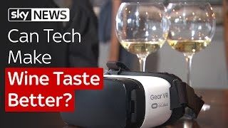 SWIPE | VR Wine Tasting And Synthetic DNA To Fight Art Forgery - SKYNEWS