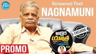 Renowned Poet Nagnamuni Exclusive Interview - Promo || Akshara Yatra With Mrunalini #22 - IDREAMMOVIES