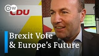 EU Commission presidential candidate Manfred Weber: Give Europe back to the people | DW Interview - DEUTSCHEWELLEENGLISH