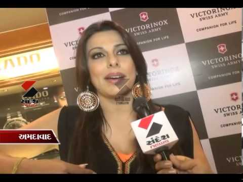 Sandesh News- An interview with Pooja Bedi at Ahmedabad