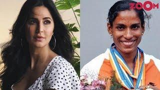 Katrina Kaif to REPLACE Priyanka Chopra in PT Usha biopic? | Bollywood Gossip - ZOOMDEKHO