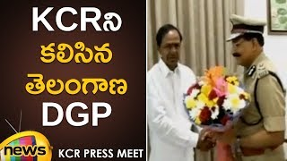 DGP Mahender Reddy Meets KCR | KCR Latest Updates | TRS | Mango News - MANGONEWS